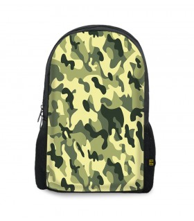 camouflage art printed backpacks