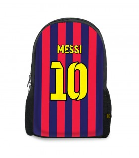 10 messi art printed backpacks