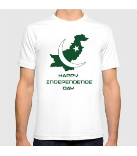 pakistan map printed graphic t-shirt