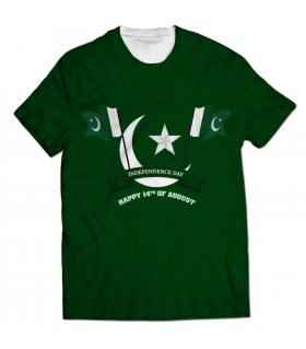 independence day all over t-shirt