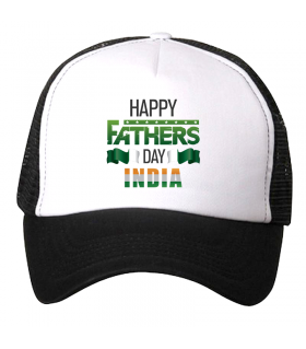 fathers day printed cap