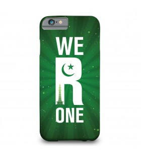 we r one printed mobile cover