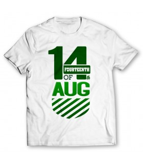14 august printed graphic t-shirt