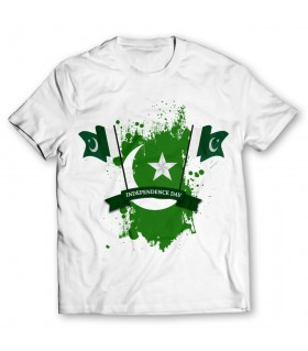 independence day printed graphic t-shirt