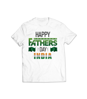 fathers day printed graphic t-shirt