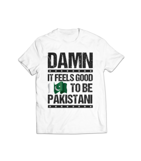 it feels good printed graphic t-shirt