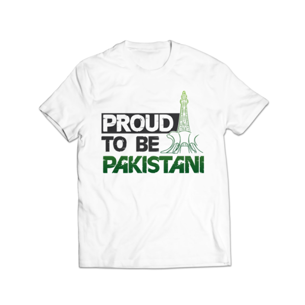 03d77110 proud to be pakistani printed graphic t-shirt Rs.499 Price Online ...