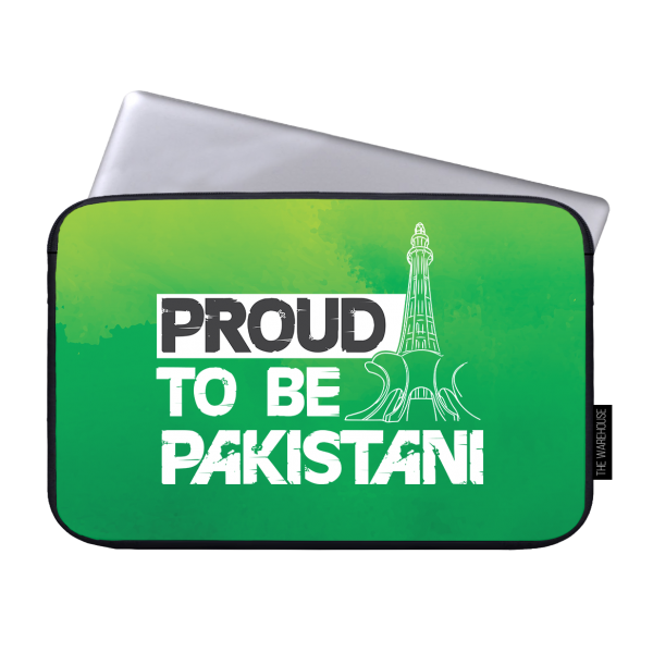 Proud To Be Pakistani Printed Laptop Sleeves