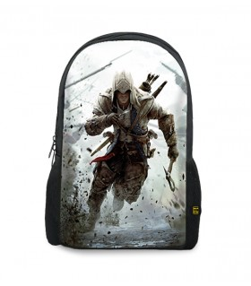 Connor printed backpacks
