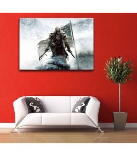 Assassins Creed III canvas frames