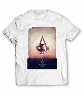 Assassins Creed unity printed graphic t-shirt