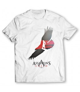 Assassins creed printed graphic t-shirt