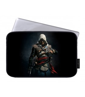 Edward kenway printed laptop sleeves