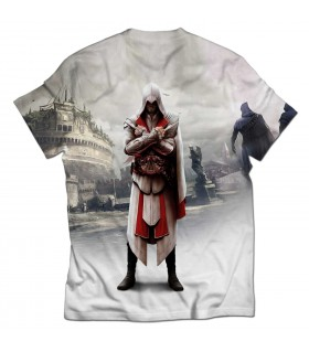 Assassins Creed Brotherhood all over printed t-shirt