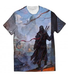 Assassins Creed Chronicles all over printed t-shirt