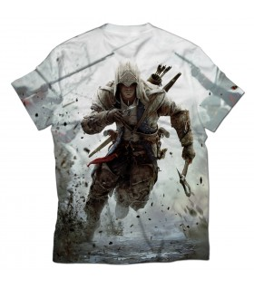 Assassins Creed Connor all over printed t-shirt