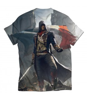 Assassins Creed unity Arno Dorian all over printed t-shirt
