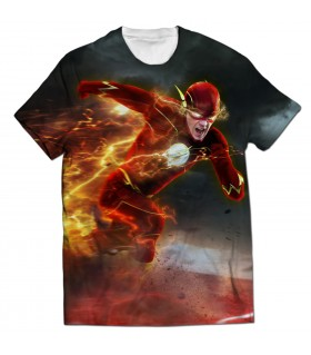 Flash all over printed t-shirt