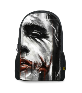 joker printed backpacks