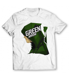 Green arrow printed graphic t-shirt