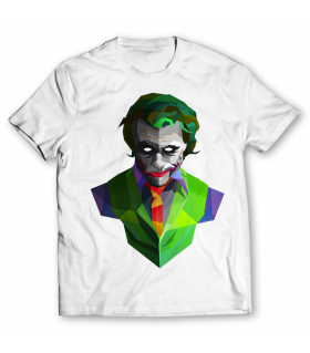 joker printed graphic t-shirt