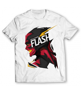 new 52 reverse flash printed graphic t-shirt