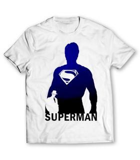 superman printed graphic t-shirt