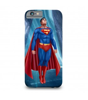 Superman printed mobile cover