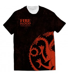 Targaryen all over printed t-shirt