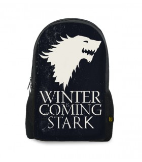 Stark printed backpack