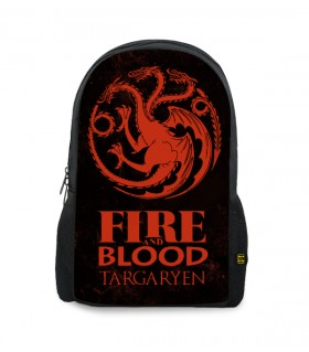 Targaryen printed backpack