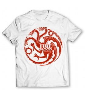 Targaryen printed graphic t-shirt