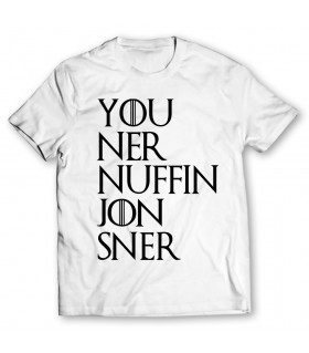 jon sner printed graphic t-shirt