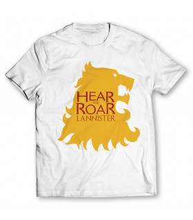 lannister printed graphic t-shirt