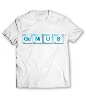 genius printed graphic t-shirt