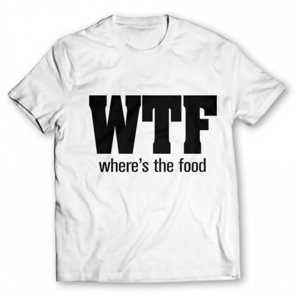 Wtf Printed Graphic T-Shirt