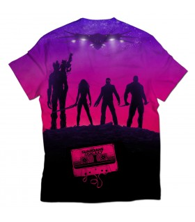 guardians of the galaxy all over printed t-shirt