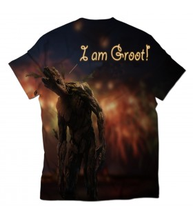 i am groot all over printed t-shirt