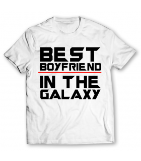 best boyfriend printed graphic t-shirt