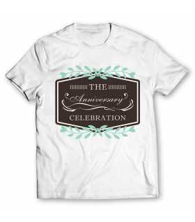 the anniversary printed graphic t-shirt