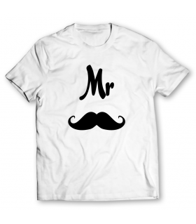 Mr printed graphic t-shirt