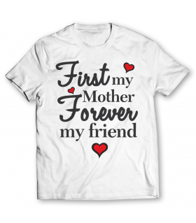 mother forever printed graphic t-shirt