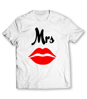mrs printed graphic t-shirt