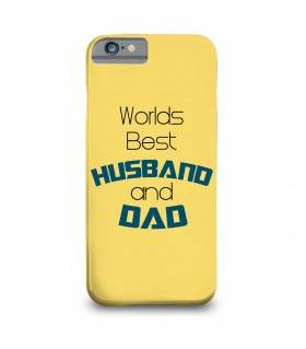husband and dad printed mobile cover