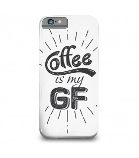 coffee is my gf printed mobile cover