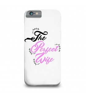 perfect wife printed mobile cover