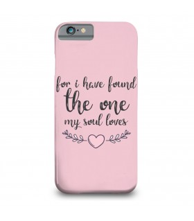 my soul loves printed mobile cover
