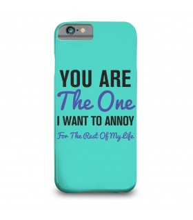 you are the one printed mobile cover