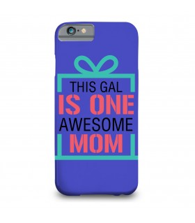 awesome mom printed mobile cover