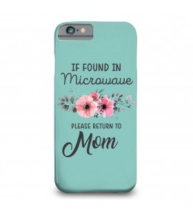 mom printed mobile cover